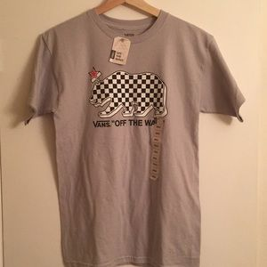 Vans Shirts - Vans Off The Wall Graphic T shirt